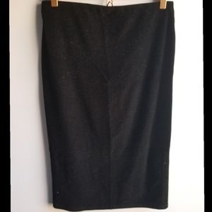 Velvet Cocktail/Pencil Skirt